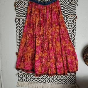 Authentic St John's Bay BoHo skirt